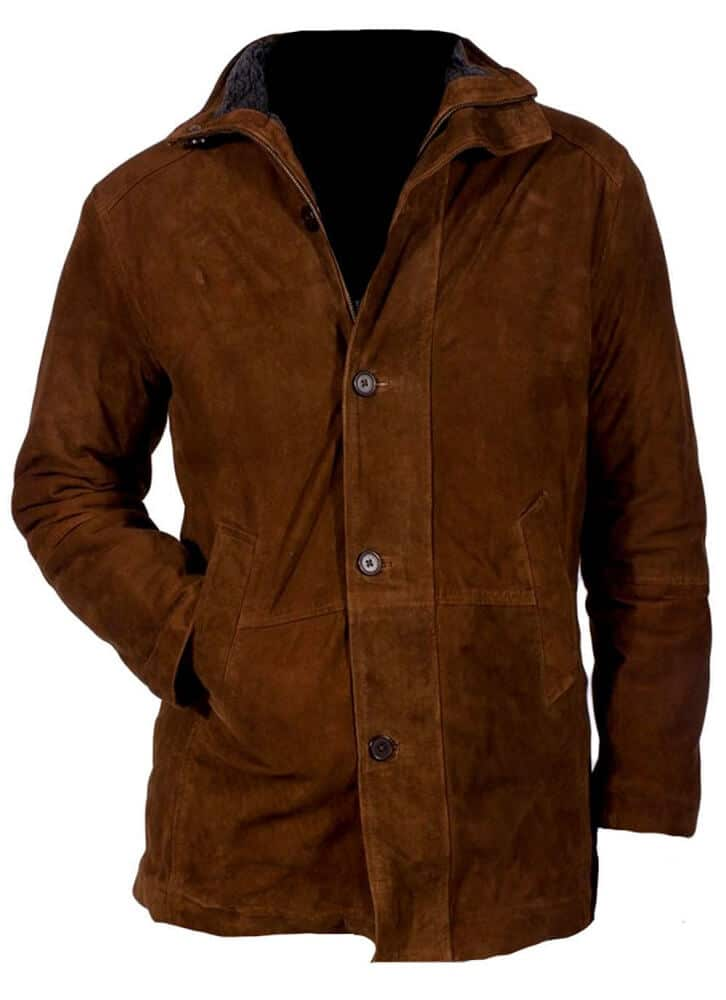 brown sheriff jacket front side