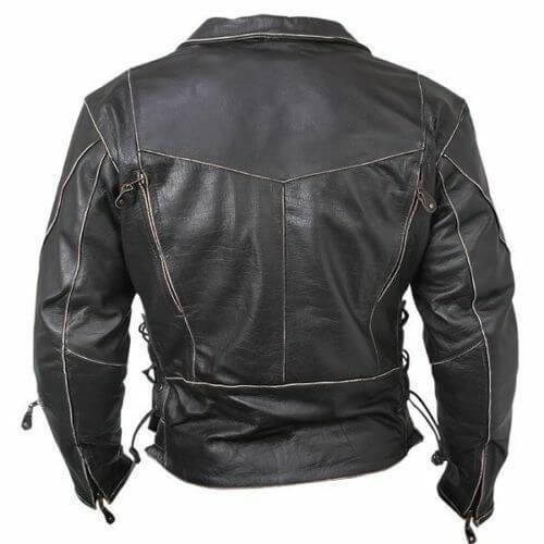 terminator brando leather jacket back side