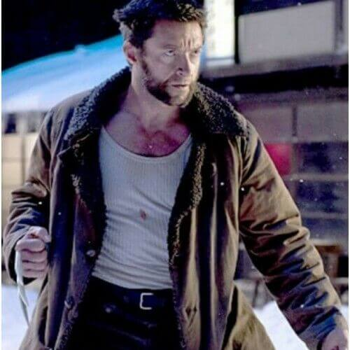 wolverine fur coat movie scene