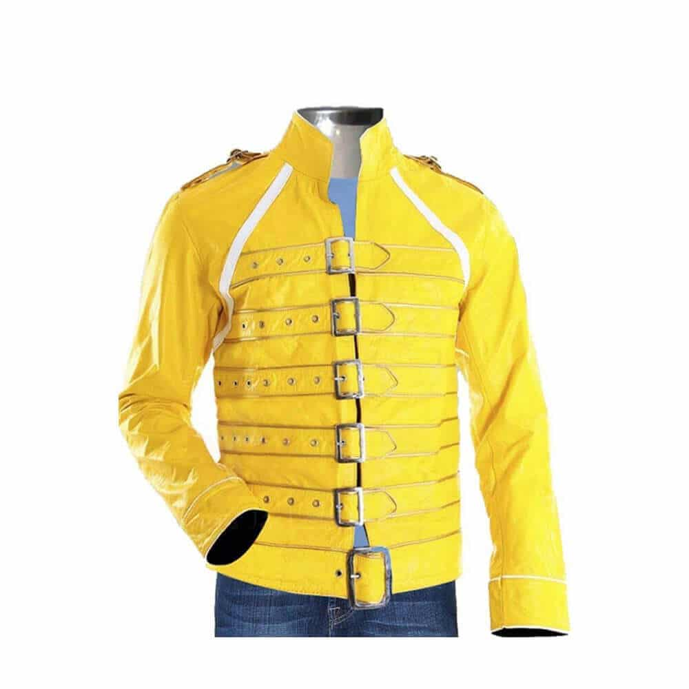 freddie mercury yellow jacket front side