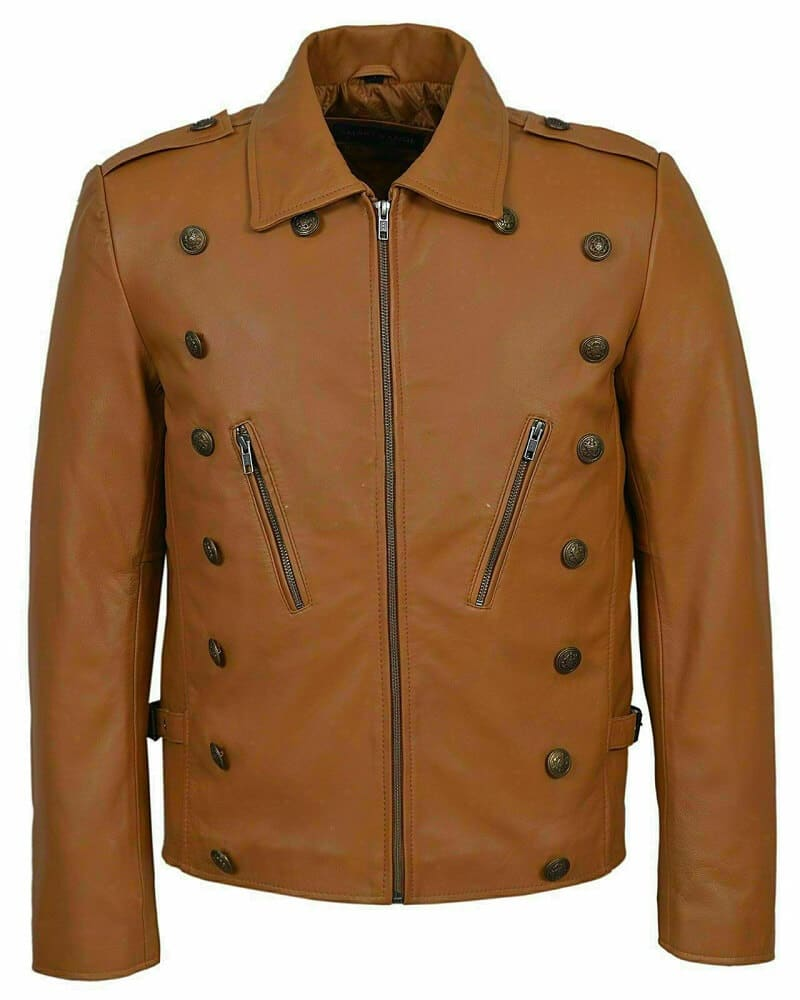 rocketeer jacket front side