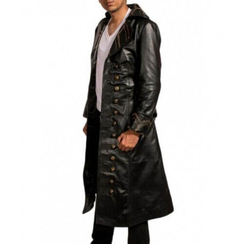 captain hook jacket once upon a time captain hook coat
