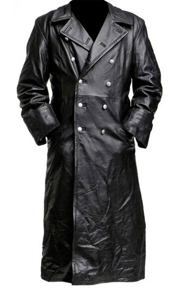 military long coat front side