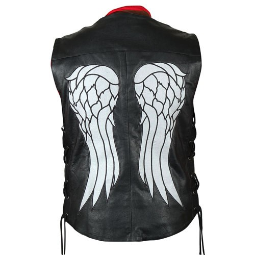 The-Walking-Dead-Governer-Daryl-Dixon-Angel-Wings-Leather-Vest-4-2